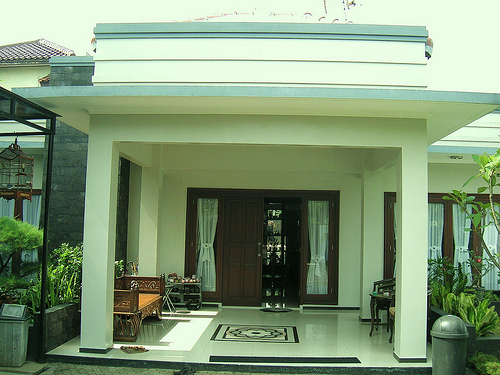 Top Desain Ruang Tamu Di Teras Rumah  desain keramik ruang tamu dan teras desain interior